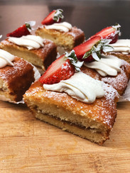 Sopas Kitchen Catering cake slices