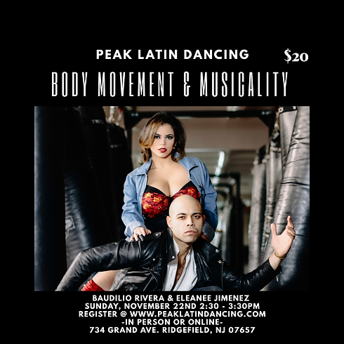 Body Movement & Musicality Workshop