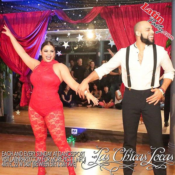 Eleanee Jimenez & Baudilio Rivera. Peak Latin Dancing Instructors