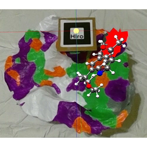 READY-MADE SARS 3CL protease active site model