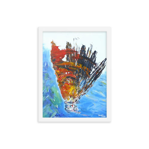 Resillience II, Achieve In Nature Collection Original Framed Print
