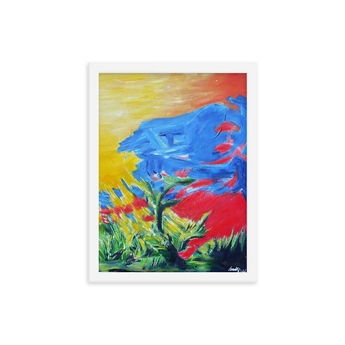 Nuture, Achieve In Nature Collection Original Framed Print