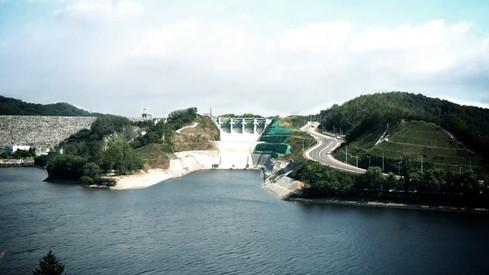 안동댐 보조여수로 공사기록영상