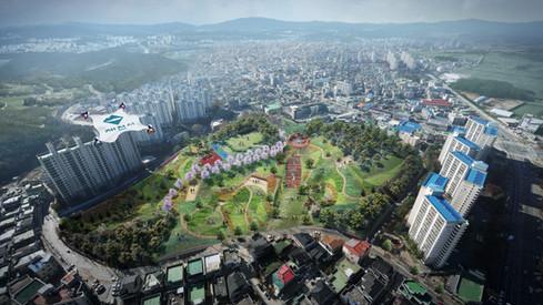 제천 공원 마스터플랜 CG Image