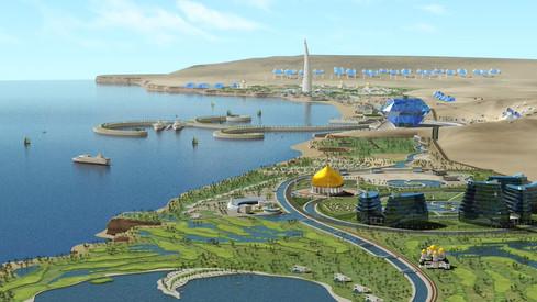 오만 두쿰 신도시 개발 홍보영상