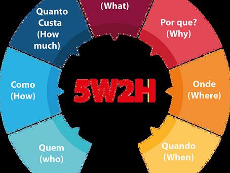 A ferramenta de gestão 5W2H
