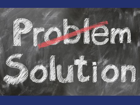 Folha de verificação: Pare de ignorar seus problemas e corte-os pela raiz.