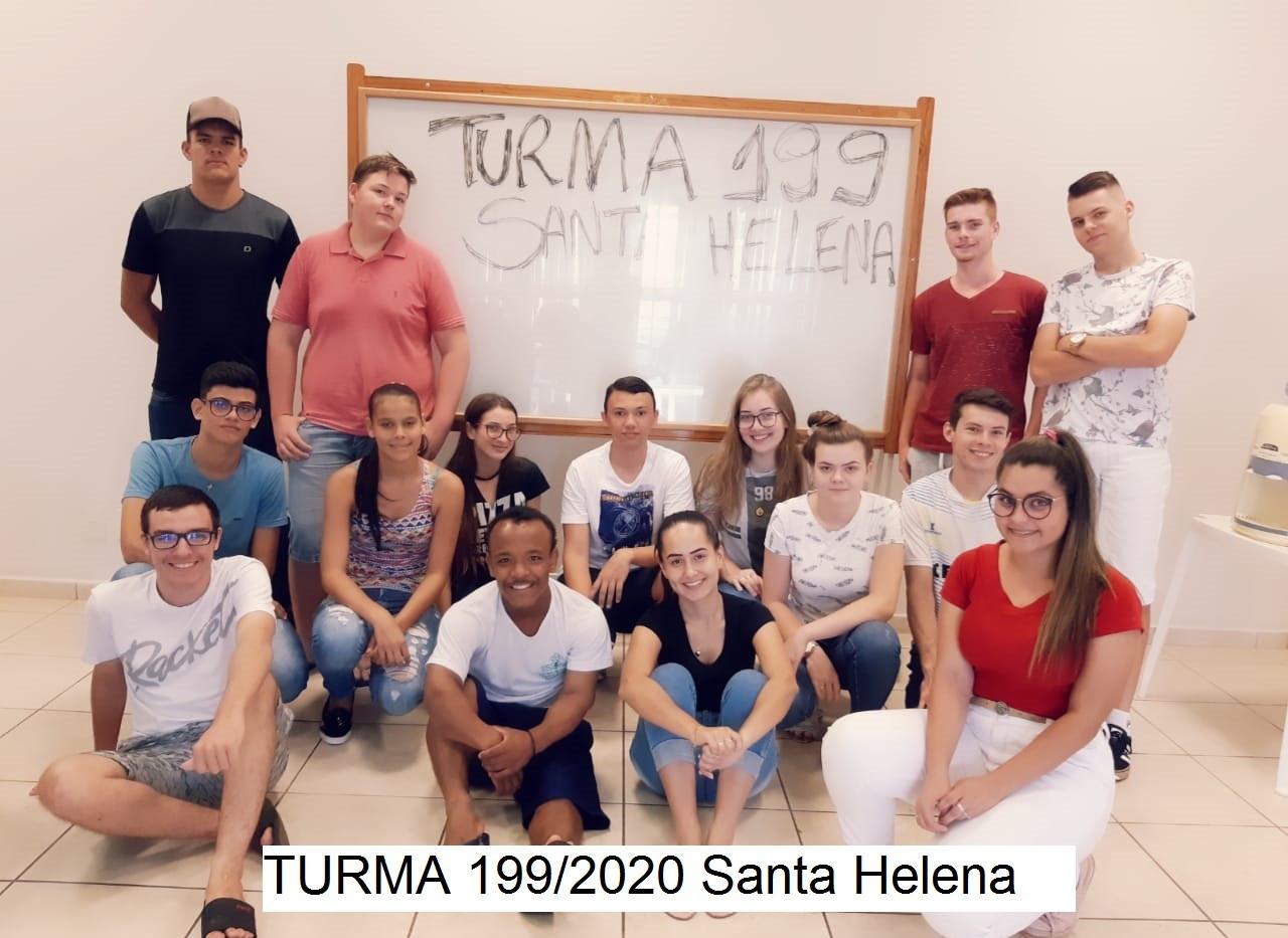 Turma 199/2020 Santa Helena