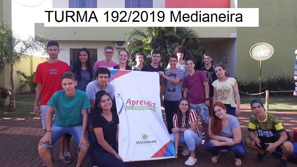 Turma 192/2019 Medianeira