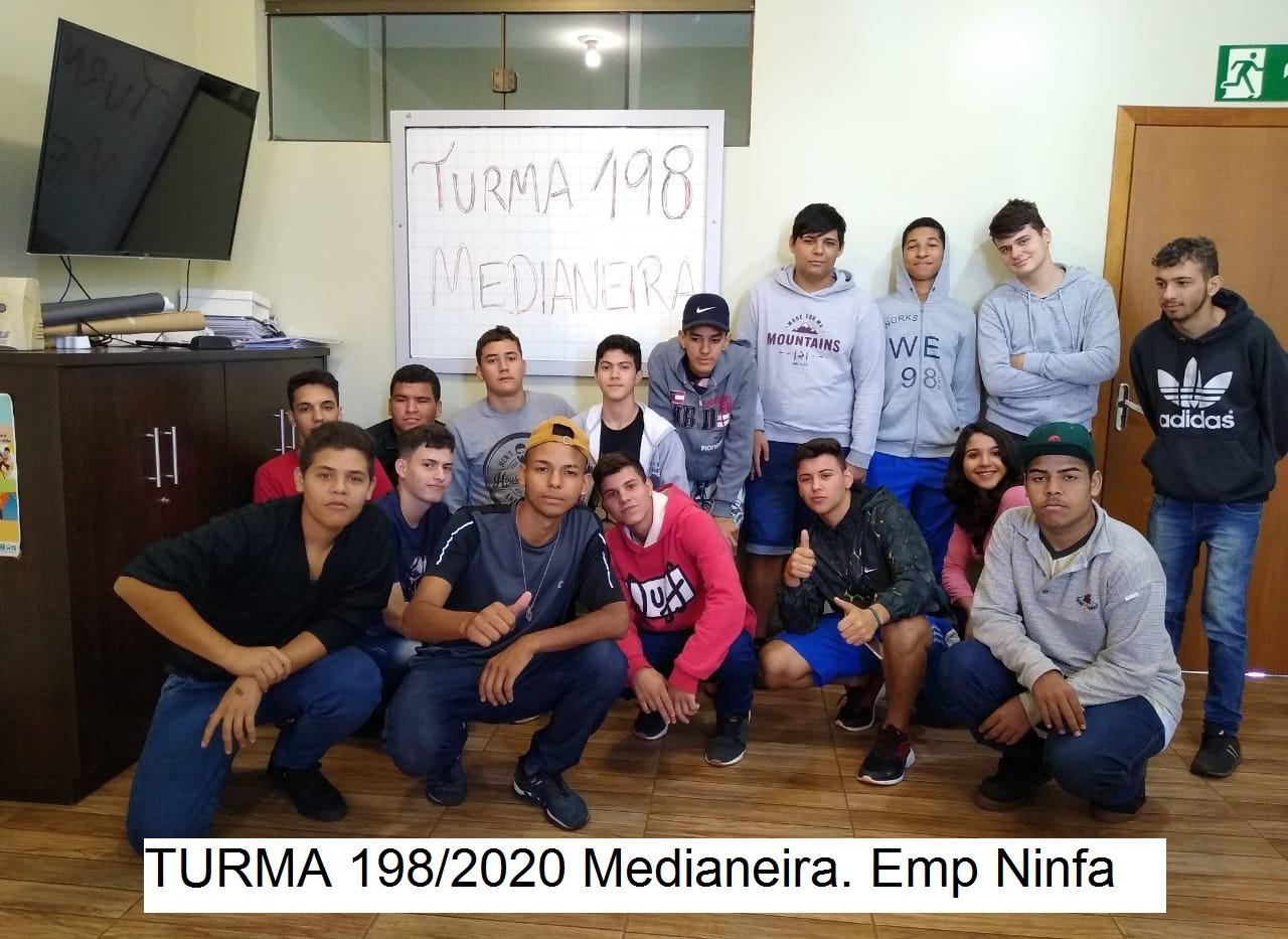 Turma 198/2020 Medianeira Emp Ninfa