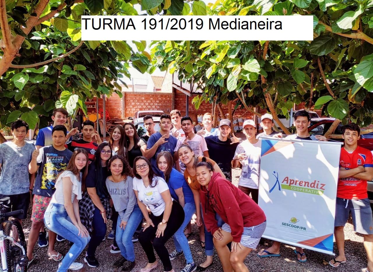 Turma 191/2019 Medianeira