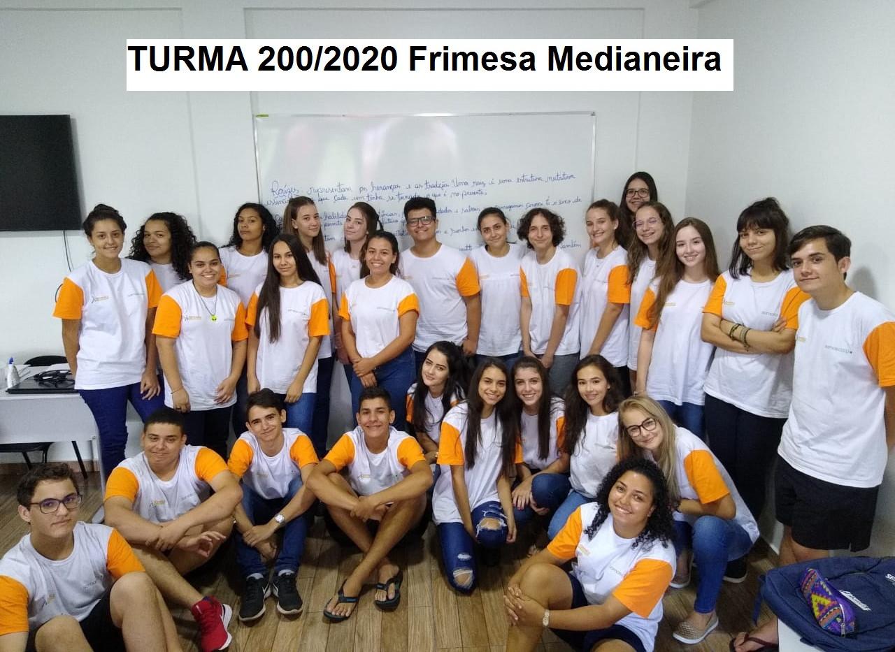 Turma 200/20120 Frimesa Medianeira