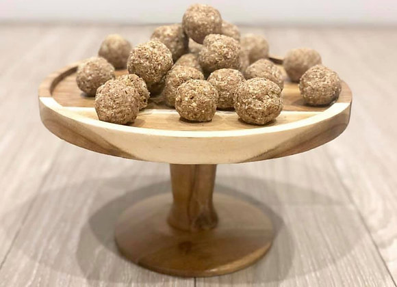 Cinnamon Donut Protein Ball