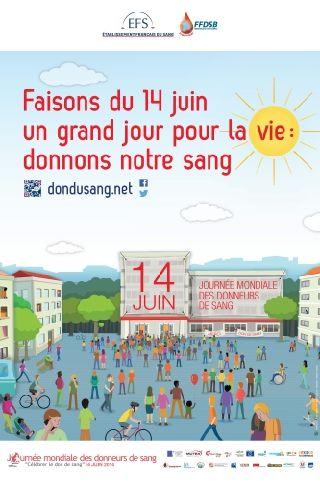Don du sang 14 Juin 2014