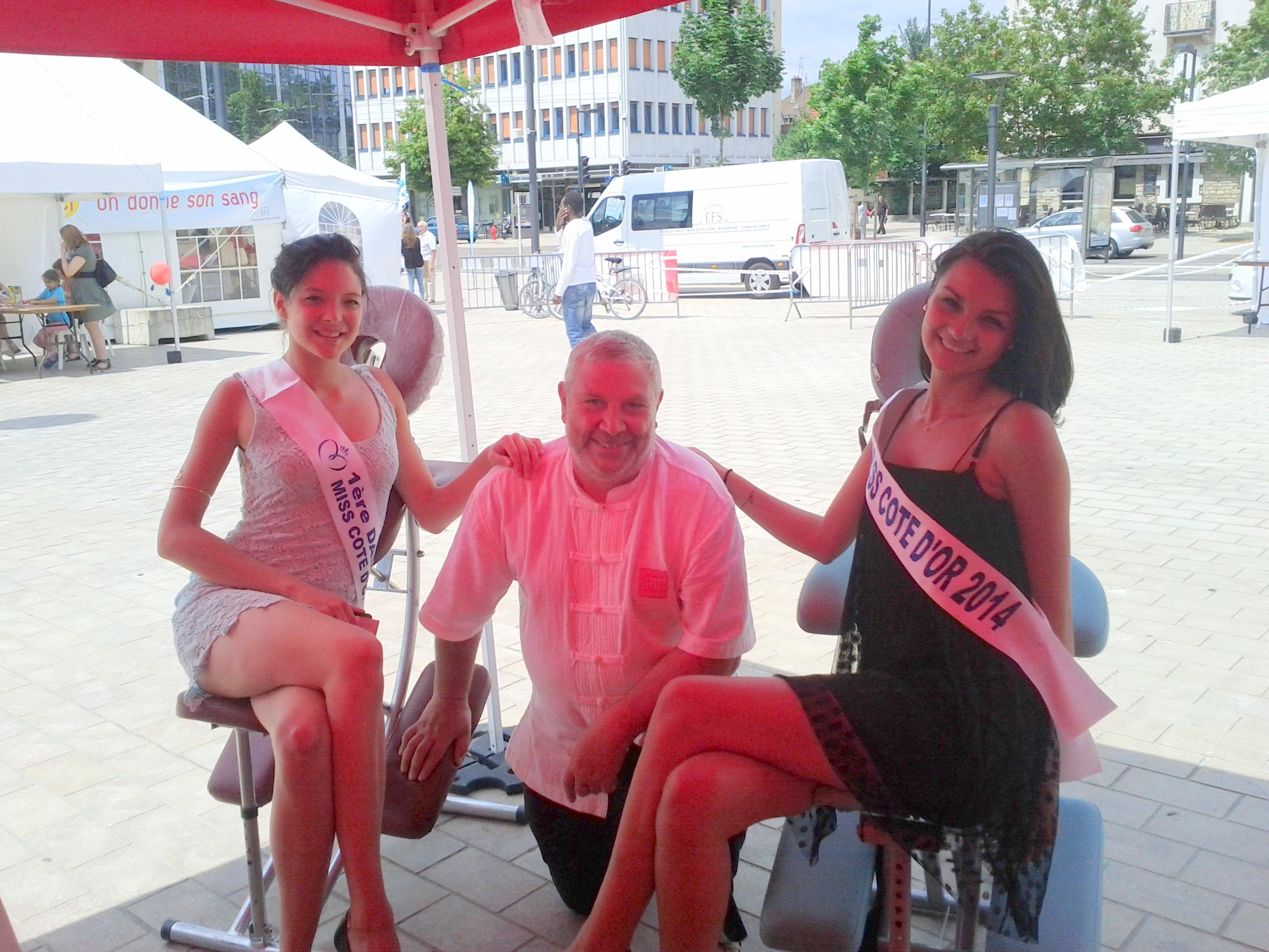 Miss Bourgogne et ses dauphines
