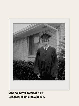Kindygarden - Graduation Card (GRAD47)