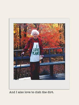 Plant Lady - Birthday Card (BD39)