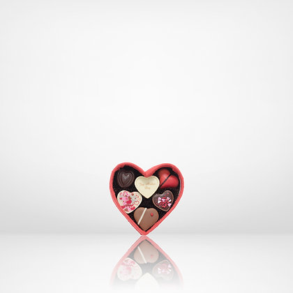 Hjärta Handgjorda Praliner 6-p