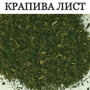 КРАПИВА ЛИСТ