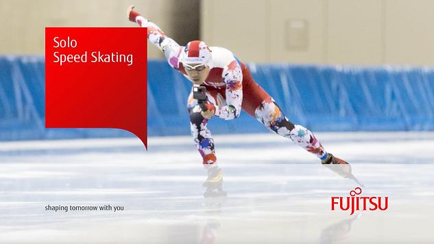 Fujitsu - Mens Solo Speed Skating 360°VR
