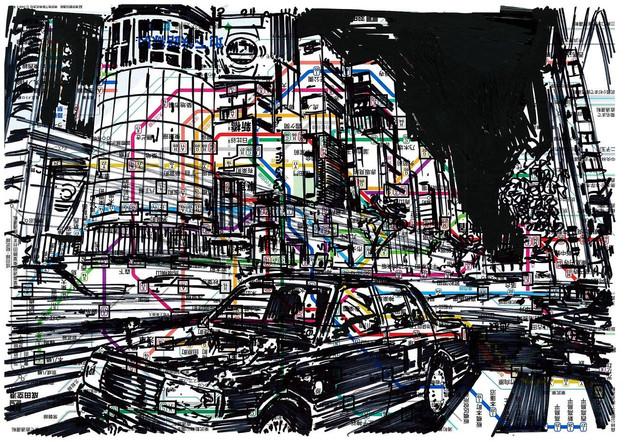 Metro Map Ginza