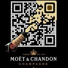 Moet & Chandon QR code