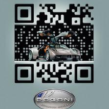 Pagani QR code