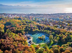 Parc de Sauvabelin à Lausanne