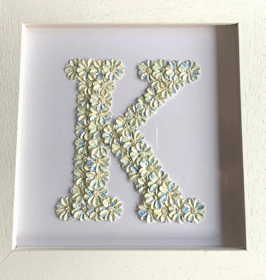 Initial K: Cream and Blue