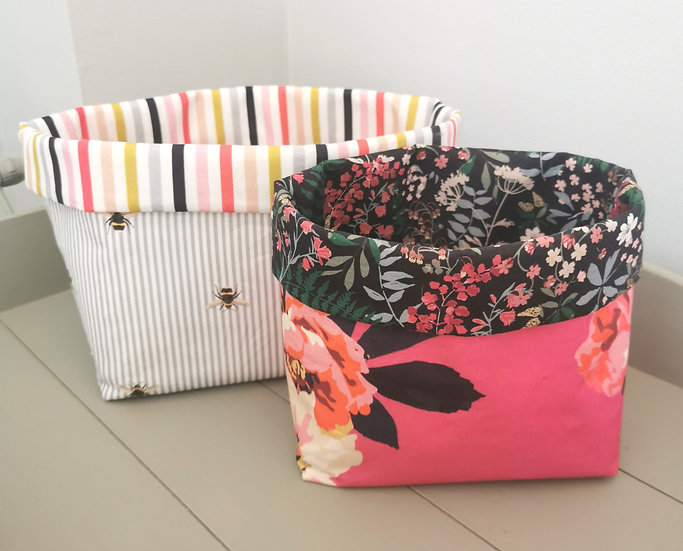 Large Joules Fabric Basket
