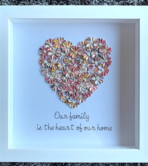 Medium Heart: Bronze SOLD
