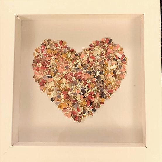Small Heart: Bronze