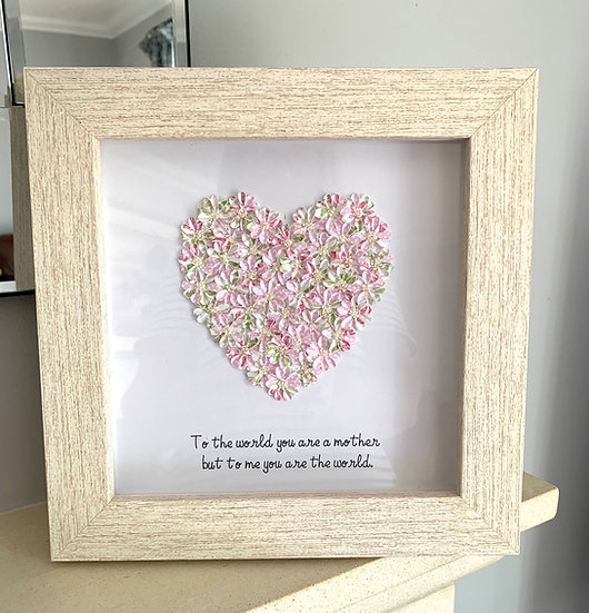 Pink Quote Heart