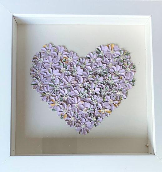 Small Heart: Mauve