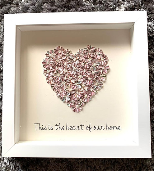 Maroon Quote Heart