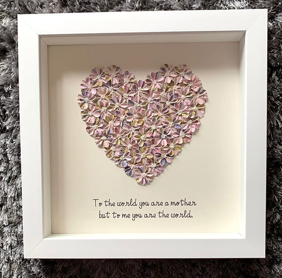 Lilac Quote Heart