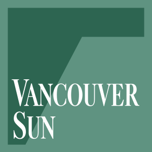 Vancouver Sun nameplate