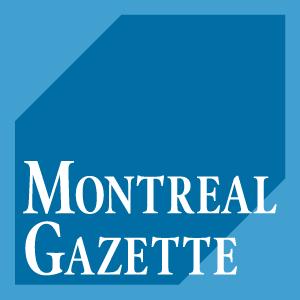 Montreal Gazette new masthead