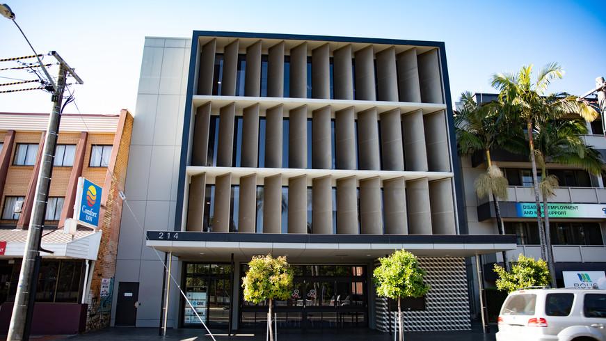 Commercial Premises Lismore Office Building /// View Project