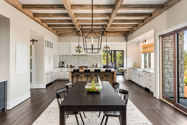 Stunning Dining room and Kitchen in New