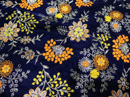 "Famous Indian ""Embroidery Fabric"" Styles"