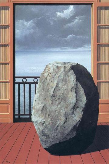 Le monde invisible (Thế giới vô hình) của Magritte