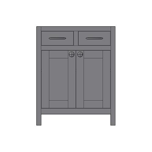 Base Unit 2 Drawers & 2 Doors