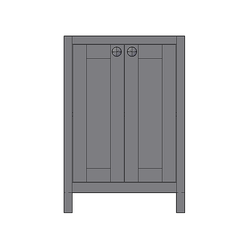 Base Unit with 2 doors