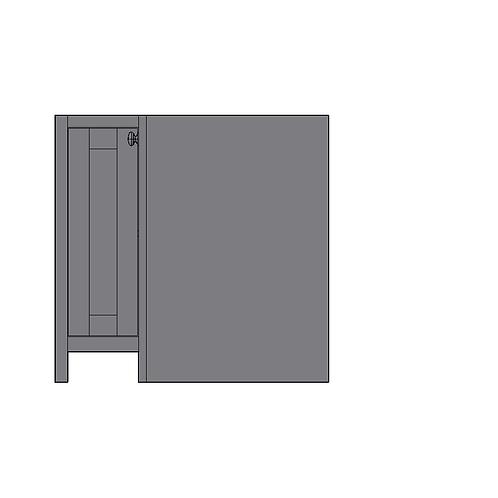 """Base """"L"""" Shape Corner Unit"""