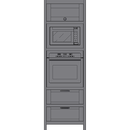 Tall Double Oven Housing