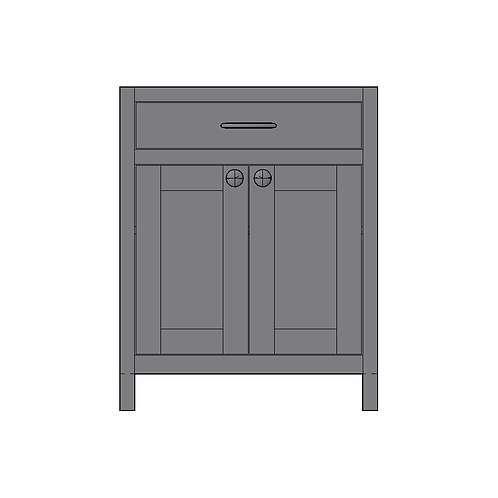 Base Unit 1 Drawer 2 Door