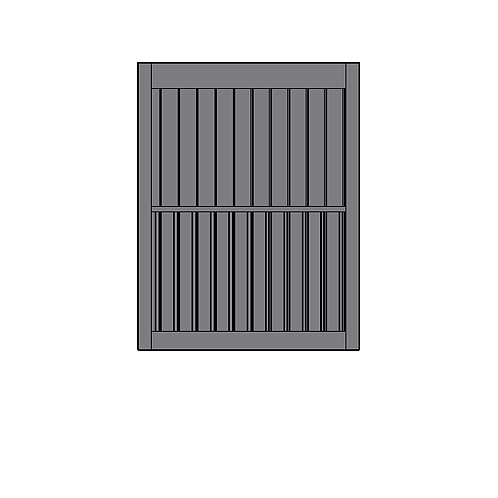Wall Integrated Plate Rack