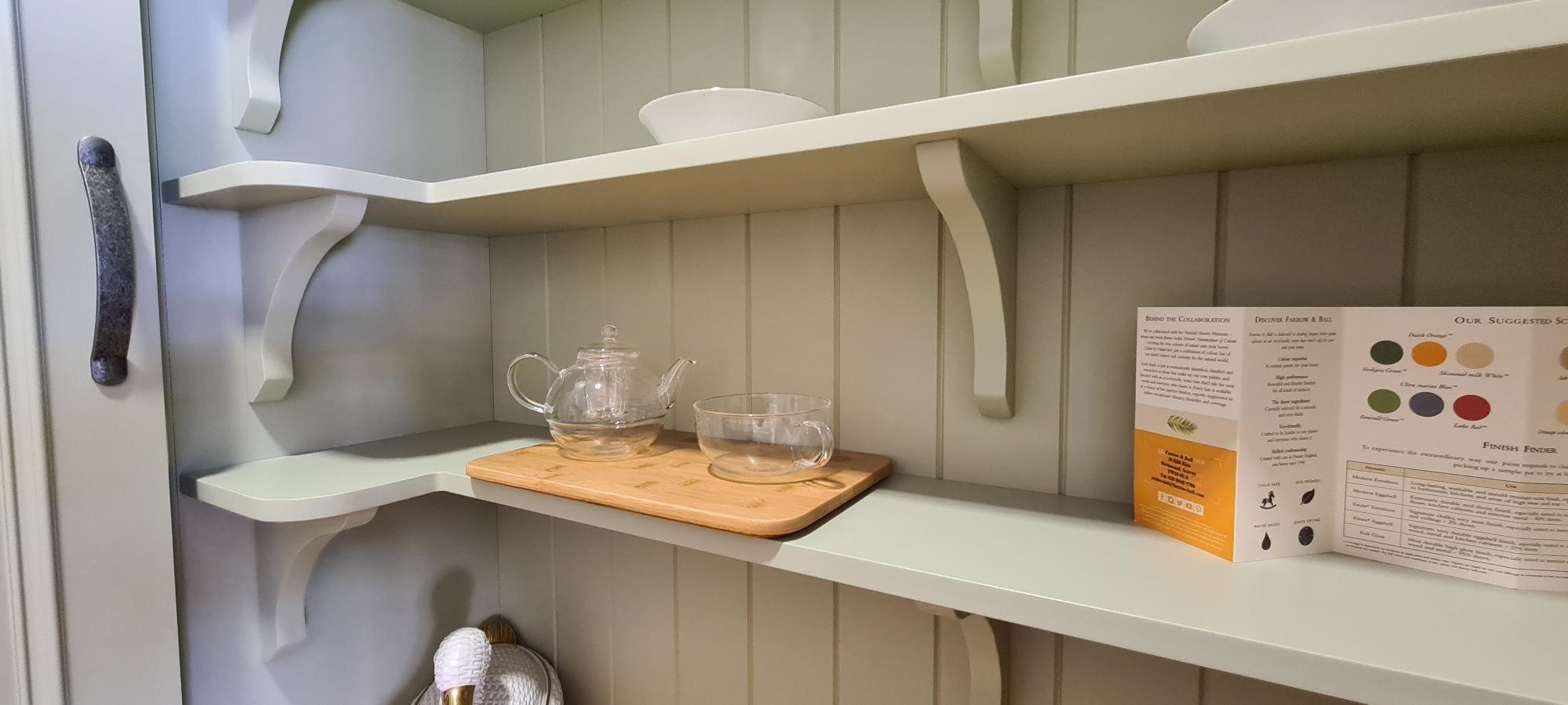 Dresser Cabinet Shelving