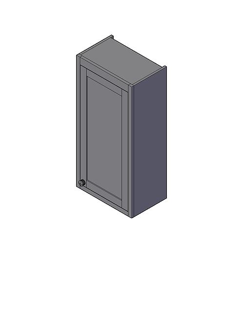 Plain Dresser End Panel